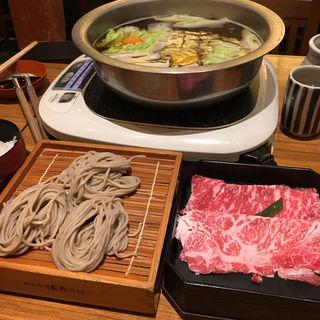 ひなしゃぶ膳(蕎麦しゃぶ総本家 浪花そばなんばダイニングメゾン店 )