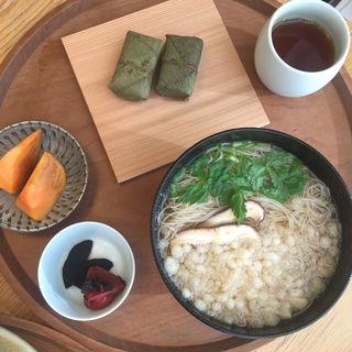 奈良定食 素麺(ディヨンナナショクドウ (d47食堂))