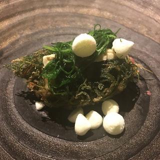 牡蠣のかき揚げ(フロリレージュ (Florilege))