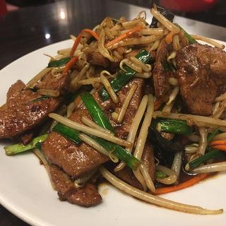 ニラレバ炒め定食(香港ロジ 原宿店 )