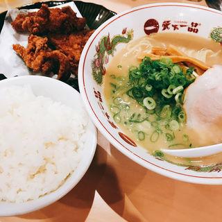 唐揚げ定食(天下一品 恵比寿店)