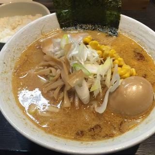 味噌味玉ラーメン(麺屋やす次 )