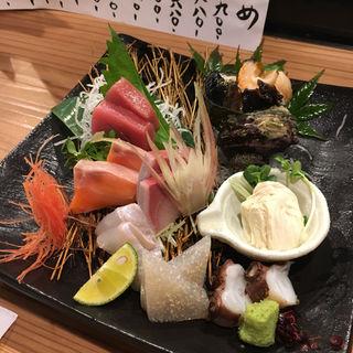 千円ポッキリ造り盛り(活魚創作料理 かず )