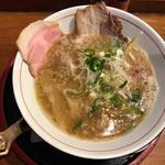 豚鶏煮干しそば(清麺屋)