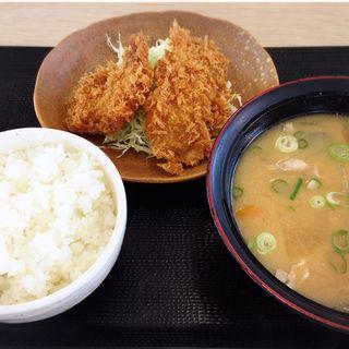 とん汁定食(かつや 福岡箱崎店)