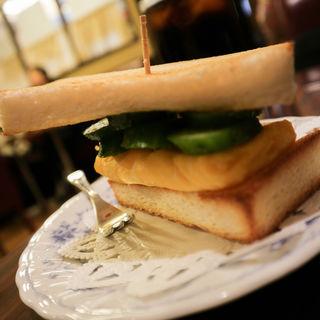 上玉子トースト(切通し進々堂 )