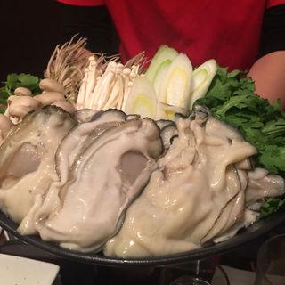 牡蠣鍋(素揚げや 小岩店 )