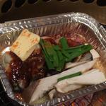 牡蠣とエリンギの味噌バター焼き(焼肉屋さかい 京都一乗寺店 (ヤキニクヤサカイ))