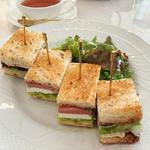 サンドイッチ&デザートコース(サロン・ド・テ・プレジール )