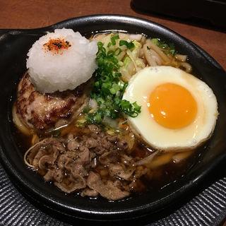 牛鍋風鬼おろしバーグ(びっくりドンキー 千日前アムザ店 )