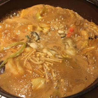 牡蠣土手鍋(銀座かなわ)