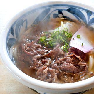 肉うどん(桃太郎館 (ももたろうかん))