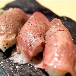 桃太郎ビーフ炙り握り(ももたろうの屋台 )