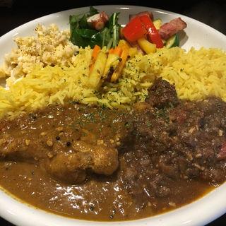 あいがけカレー(酒 to curry アチール)