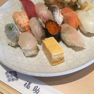 ランチ  沖(鮨処銀座福助 サンシャイン60店 )