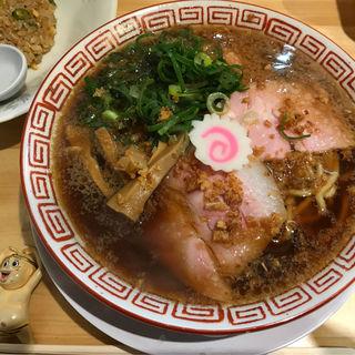 中華そばセット(半チャーハン)(サバ6製麺所)