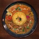 南インドカシューナッツポークカレー&鶏とキノコの和だしカレー
