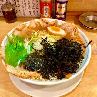 塩ちゃーしゅーめん特盛+岩のり(拉麺いち正)