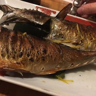 鯖の塩焼き(さかなや 富ちゃん 麻布十番店 )