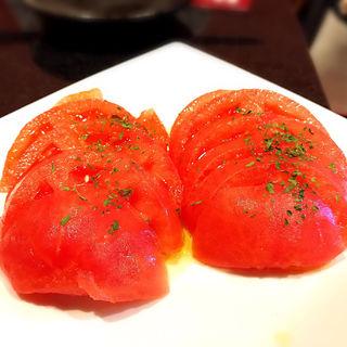 冷やしトマト(おでんや潮 恵比寿本店)