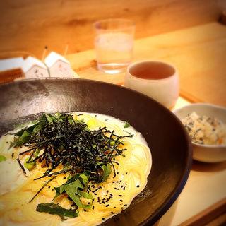 蒸し鶏と枝豆の白味噌クリーム(こなな 四条店 )