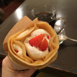 イチゴとクリーム
