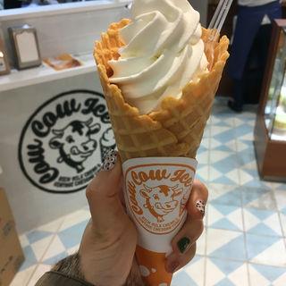 Cow Cow Ice ミルク(東京ミルクチーズ工場 ルミネ新宿店)