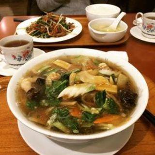 五目湯麺(山大軒)