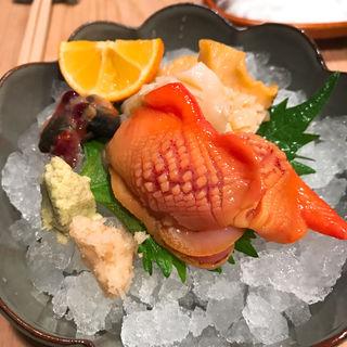 貝のお造り(しきぶ )