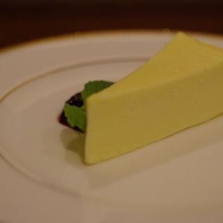 こってりとしたチーズケーキ