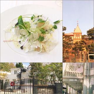 前菜 タイラギ貝のマリネ他(邸宅レストラン レイン邸)