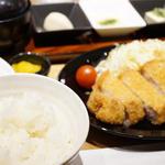 米愛豚ロースとんかつ定食(豚かっぽう まいら 栄店 )