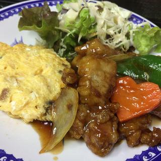 酢豚定食(天遊 )