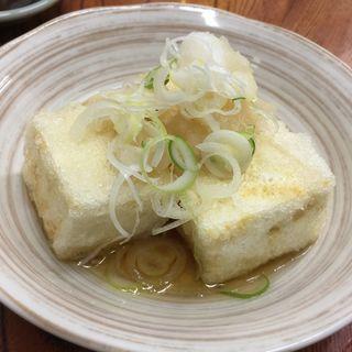 揚げ出し豆腐(だるま )