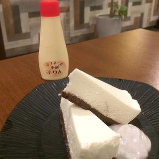 マヨレアチーズケーキ(マヨネーズ本舗)