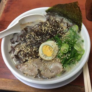 きくらげラーメン(博多天神 お茶の水1号店 (はかたてんじん))