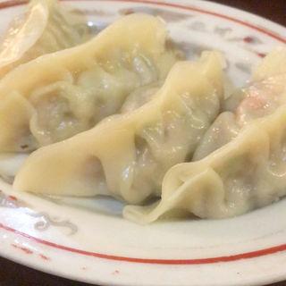 海老入り蒸し餃子(鎮海楼 (ちんかいろう))