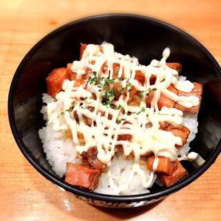 ミニ焼豚丼(楽観 NISHIAZABU GOLD )