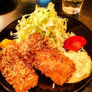 ヒラメフライ定食(とんかつ 松永 )