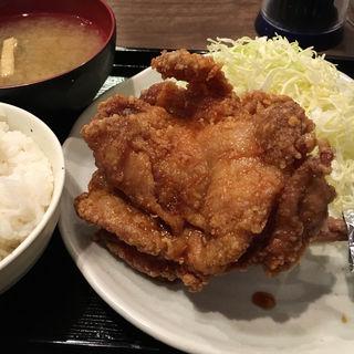 海賊モモ肉定食(南蛮食堂 )