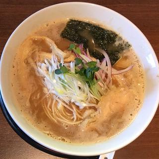 生姜醤油鶏そば(葵 )