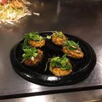 山椒香る鶏つくねの生七味焼き