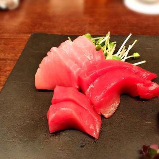 富山 めじまぐろ刺身(楽食酒 圓 (らくしょくしゅ まる))