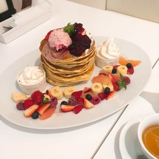 butterパンケーキタワー(バター ららぽーと甲子園店 (Butter))
