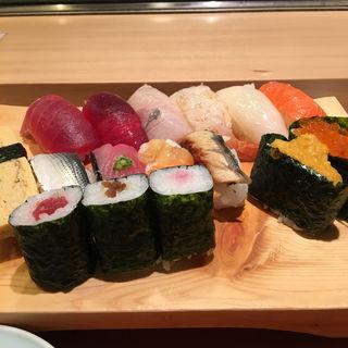 寿司ランチ大盛り(  鮨政 西口店)