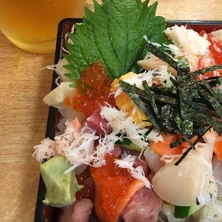 ばらちらし(お魚やの市場寿司南部市場店)