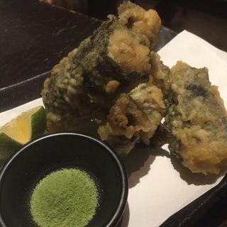 牡蠣の磯辺揚げ(いつらく )