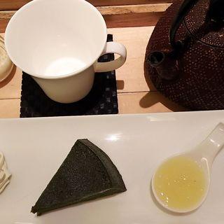 生茶の菓セット(マールブランシュ カフェ )