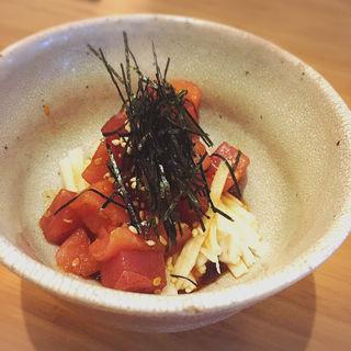 まぐろと長芋のポキ(taolu's 池尻食堂)