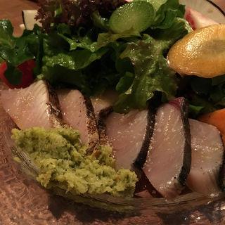 鰆の炙りカルパッチョ(オステリア・コチネッラ )
